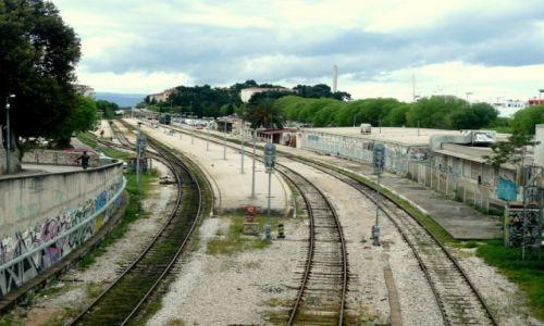 Zdjecie CHORWACJA / Split / Split / Split stacja kolejowa