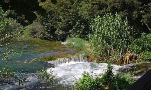 Zdjecie CHORWACJA / brak / Wodospady na rzece Krka, park narodowy / Krka, Chorwacja