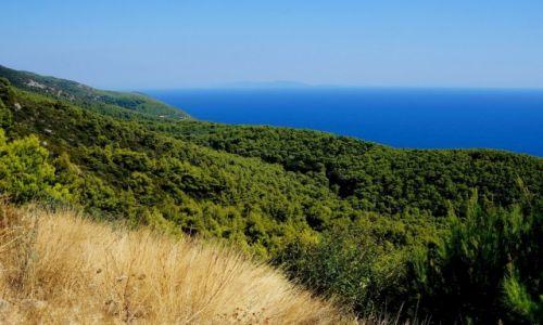 Zdjecie CHORWACJA / poludniowa Dalmacja / Korčula / nad przepaścią.