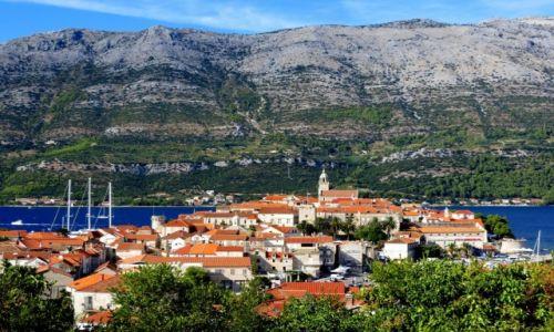 Zdjęcie CHORWACJA / Dalmacja południowa / Korčula / Stare Miasto -  Korčula