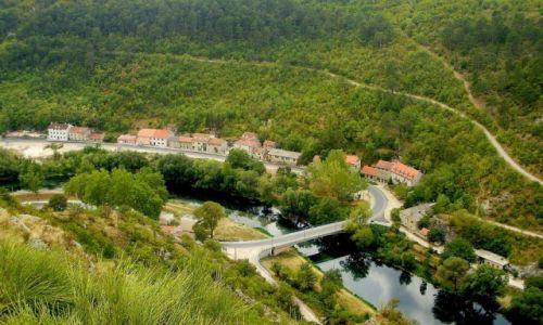 Zdjecie CHORWACJA / północna Dalmacja / Knin - widok z twierdzy (wzgórze Spas) / uroki Knina...
