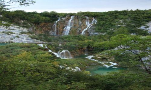 Zdjęcie CHORWACJA / Żupania Licko-Senjska / Park Narodowy Jezior Plitwickich / Wielki Wodospad
