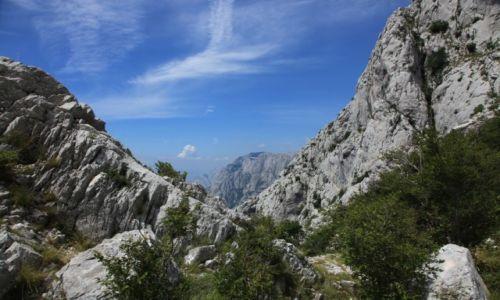 Zdjęcie CHORWACJA / Park Przyrody Biokovo / Vošac (1411 m n.p.m.) / Góry Dynarskie