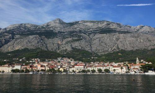 CHORWACJA / Makarska / Marina / Góry Biokovo ze szczytem Vošac (1411 m n.p.m.)