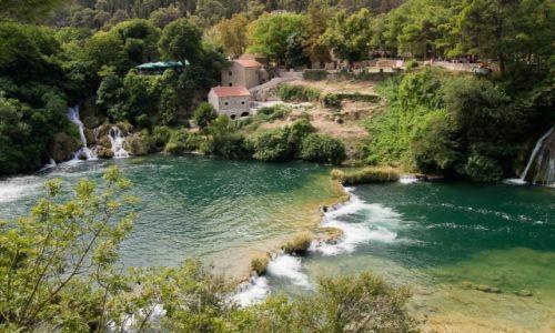 Zdjęcie CHORWACJA / Chorwacja / wodospady Krki / Krka