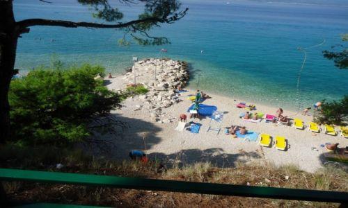 Zdjecie CHORWACJA / Dalmacja / Baśka Voda / Plaża