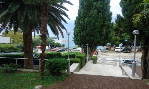 Zdjecie CHORWACJA / Dalmcja / Baśka / Widok na morze od strony hotelu Dubrawka