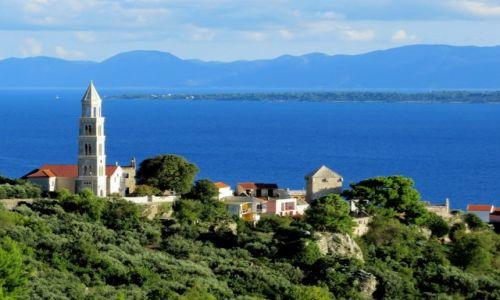 Zdjecie CHORWACJA / Riviera Makarska / Igrane / nad miasteczkiem Igrane...
