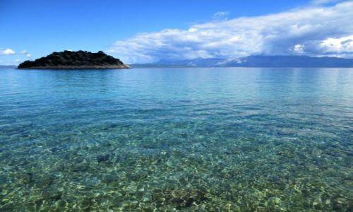Zdjęcie CHORWACJA / poludniowa Dalmacja / zatoka Divna / bezludna wysepka tuż, tuż...