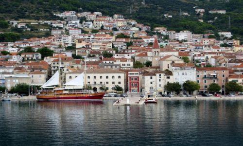 Zdjęcie CHORWACJA / Riviera Makarska / Makarska / przed nawałnicą...
