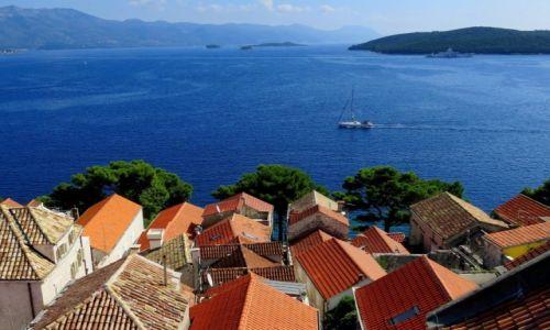 Zdjęcie CHORWACJA / Dalmacja południowa / Korčula / z wieży katedry św. Marka...
