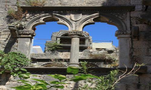 Zdjęcie CHORWACJA / Południowa Dalmacja / Korčula / Architektura i natura