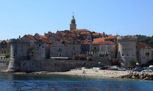 Zdjęcie CHORWACJA / Południowa Dalmacja / Korčula / Mury obronne miasta