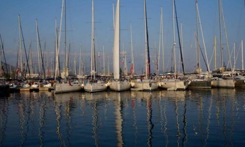 CHORWACJA / Split / port / W porcie