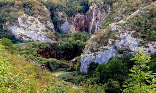 Zdjecie CHORWACJA / środkowa Chorwacja / Park Narodowy Jezior Plitwickich / Veliki Slap...