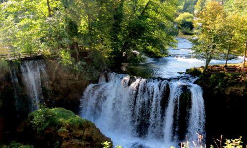 Zdjecie CHORWACJA / środkowa Chorwacja / Slunj, skansen młynów wodnych / Rastoke zawsze po drodze...