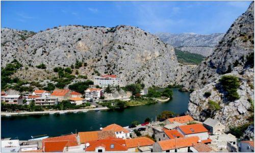 Zdjęcie CHORWACJA / Dalmacja / Omiš / kanion Cetiny