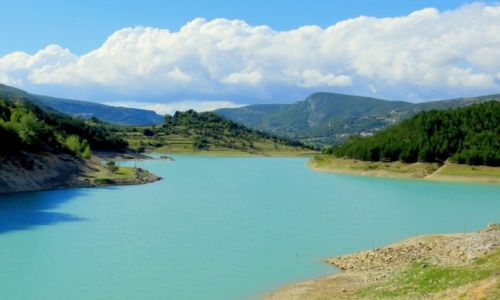 CHORWACJA / Dalmacja / Ricice / Green Lake...