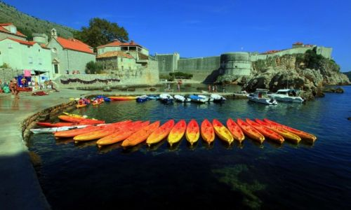 Zdjecie CHORWACJA / Południowa Dalmacja / Dubrovnik / Przystań