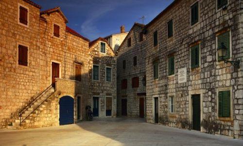 Zdjęcie CHORWACJA / Środkowej Dalmacji -Hvar /  Stari Grad  / W pogoni za światłem-2!