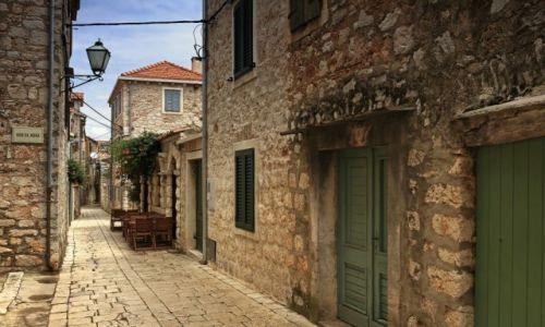 Zdjecie CHORWACJA / Środkowej Dalmacji -Hvar /  Stari Grad  / W cieniu kamiennych uliczek-c.d
