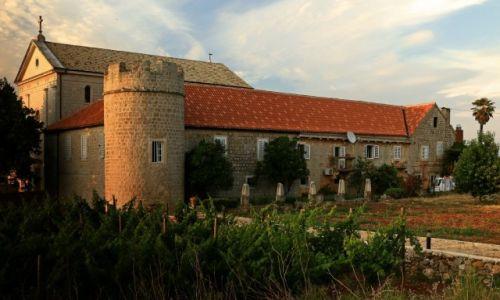 Zdjecie CHORWACJA / Środkowej Dalmacji -Hvar /  Stari Grad  /  Klasztor dominikański