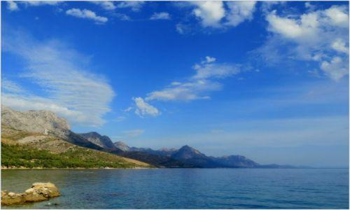 Zdjecie CHORWACJA / Dalmacja / Riviera Makarska / troszkę rozmazane...