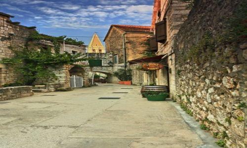 Zdjęcie CHORWACJA / Środkowej Dalmacji -Hvar /  Stari Grad  / W cieniu kamiennych uliczek-c.d