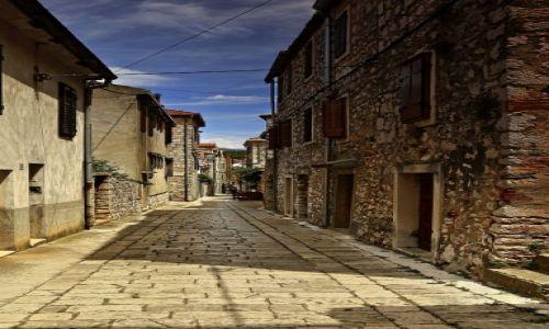 Zdjęcie CHORWACJA / Środkowej Dalmacji -Hvar /  Stari Grad  / Zaułki Starego Miasta