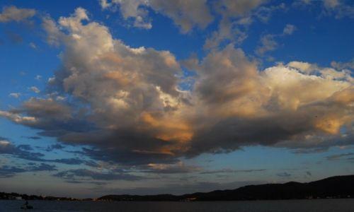 Zdjecie CHORWACJA / Dalmacja / Peljesac-Korcula / Nie każda chmura zwiastuje deszcz