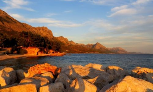 Zdjecie CHORWACJA / Dalmacja / s�oneczna Riviera Makarska / wszystkie drogi