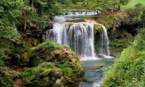 Zdjecie CHORWACJA / środkowa Chorwacja / Slunij-Rastoke; skansen młynów wodnych / ten - największy...