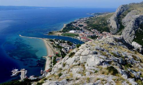 Zdjęcie CHORWACJA / Riviera Omiš / Omiš / w centrum Dalmacji...