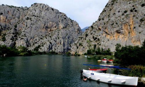 Zdjęcie CHORWACJA / Dalmacja środkowa / Omiš / kanion Cetiny...