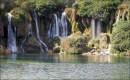 BOśNIA i HARCEGOWINA / niedaleko granicy z Chorwacją / wodospady Kravica, koło miasteczka Ljubuški / lubię to miejsce...