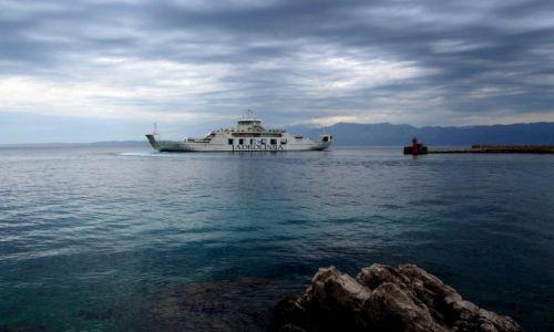 Zdjecie CHORWACJA / Peljesac / port wTrpanj / kierunek-Rijeka...