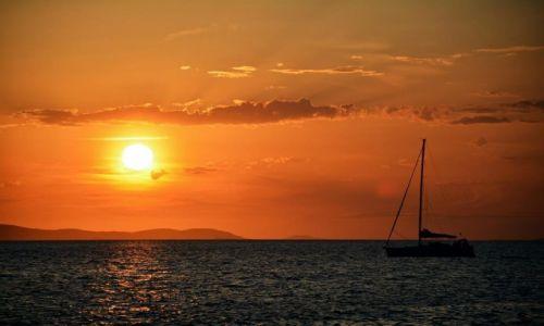 Zdjęcie CHORWACJA / Kvarner / Senj / Zachód Słońca