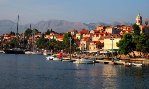 Zdjecie CHORWACJA / Dalmacja południowa / Cavtat - port / Cavtat późnym popołudniem...