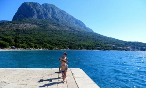 Zdjecie CHORWACJA / Riviera Makarska / Zaostrog -przystań / radość w słońcu...