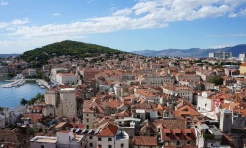 CHORWACJA / Dalmacja / Split / miasto cesarza Dioklecjana...