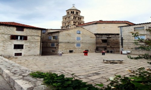 Zdjecie CHORWACJA / Split / Pa�ac Dioklecjana / Katedra �w. Duj