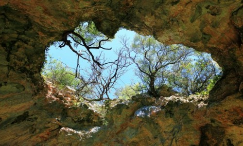 Zdjecie CHORWACJA / Vela Luka / Vela spilja, czyli wielka jaskinia / Świetlik