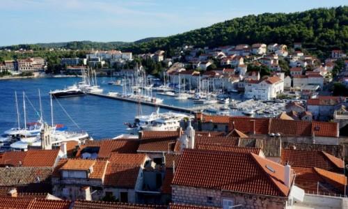 Zdjęcie CHORWACJA / Dalmacja południowa / Korcula / port...
