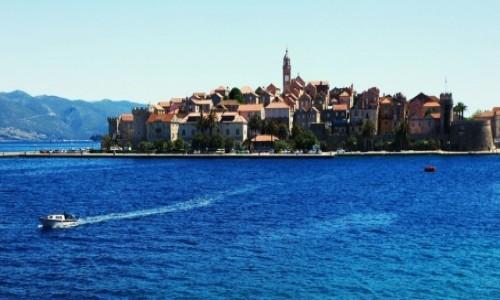 Zdjęcie CHORWACJA / Południowa Dalmacja / Korčula / Taksówka wodna