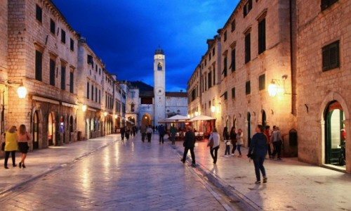 Zdjęcie CHORWACJA / Dubrovnik / Stare Miasto / Stradun