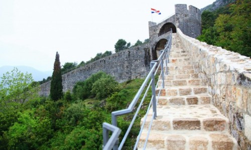 Zdjęcie CHORWACJA / Południowa Dalmacja / Ston / Mury