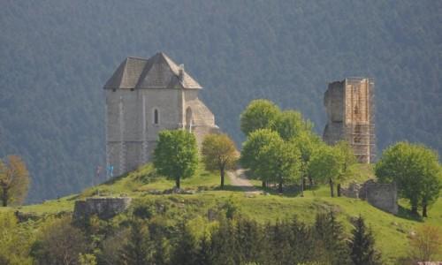 Zdjęcie CHORWACJA / Zupania Licko Senska / Sokolac / Sokolac, zamek