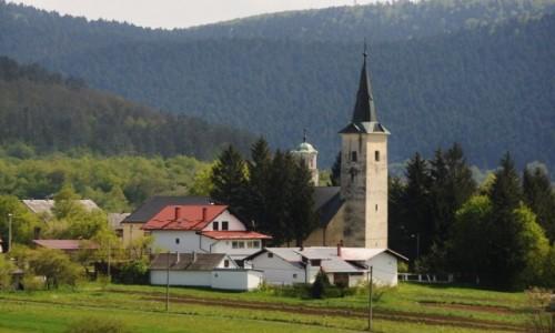 Zdjęcie CHORWACJA / Zupania Licko Senska / Sokolac / Sokolac, kościół z XIV w.