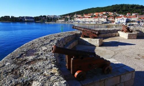 Zdjecie CHORWACJA / Południowa Dalmacja / Korčula / Bateria