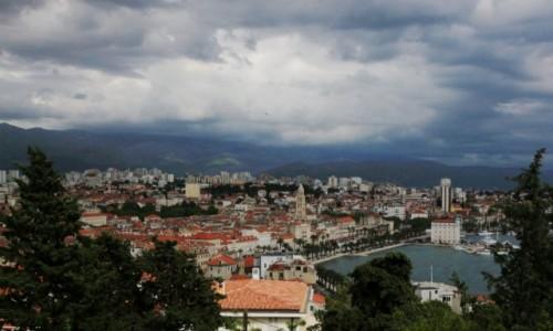 CHORWACJA / Split / Wzgórze Marjan / Panorama miasta